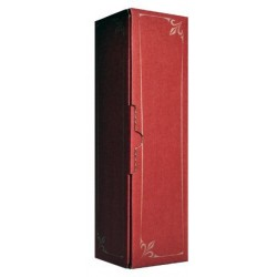 Coffret Carton lie de vin 1 magnum